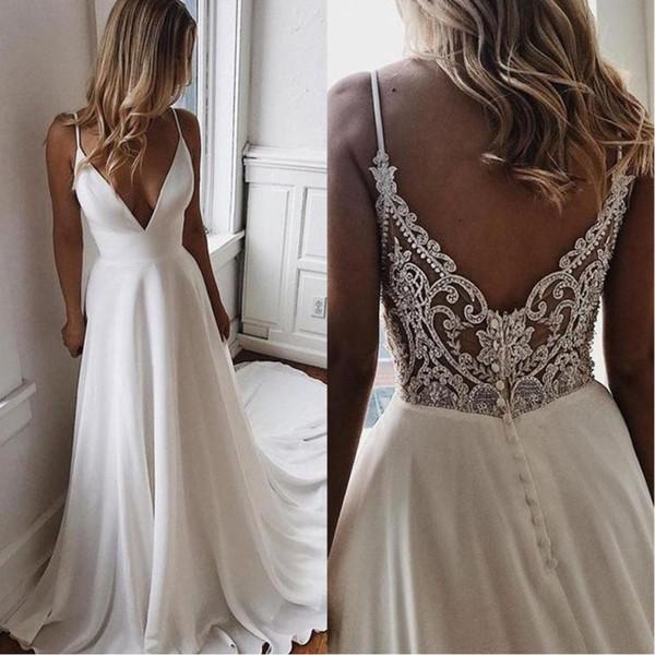Rochie de mireasă cu spatele gol