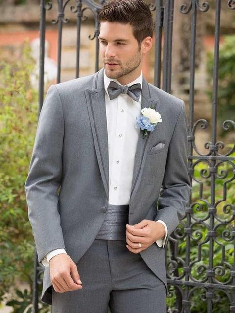 costum de nunta gri