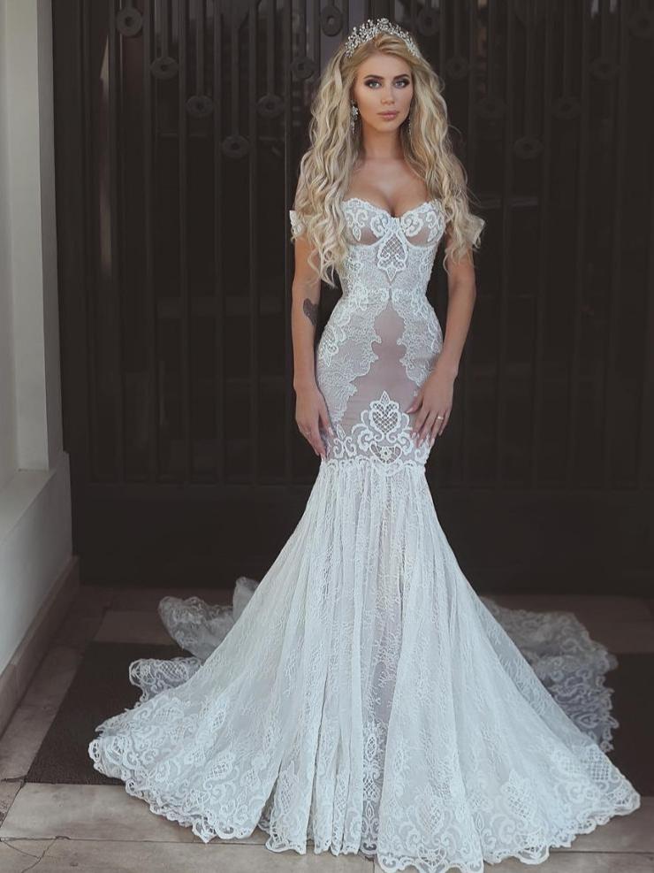Rochie de mireasa sirenă