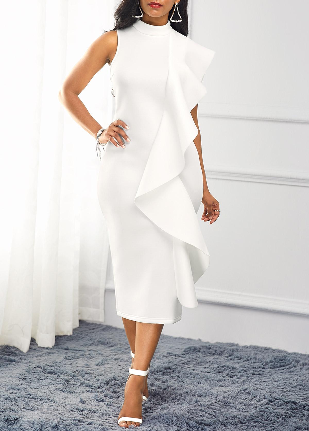 Rochie albă de ocazie