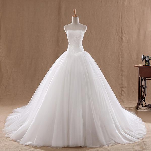 Rochie de mireasă prințesă cu corset