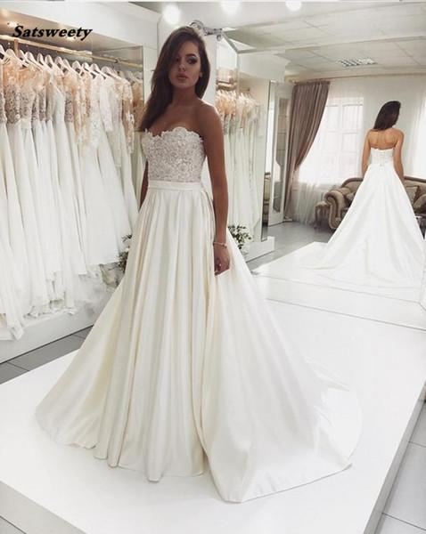 Rochie de mireasă linie A