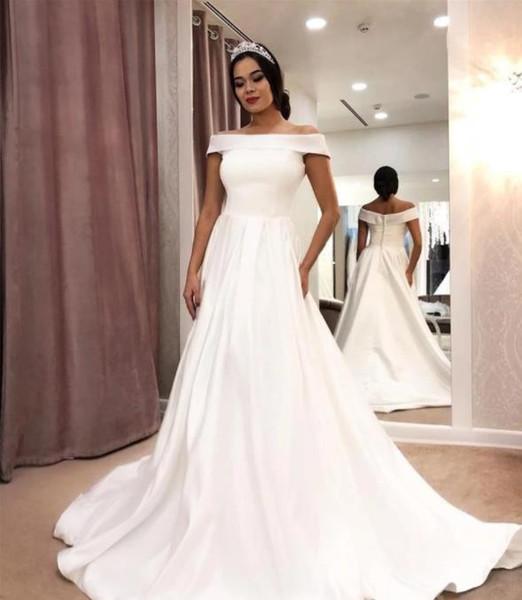 Rochie de mireasă simplă