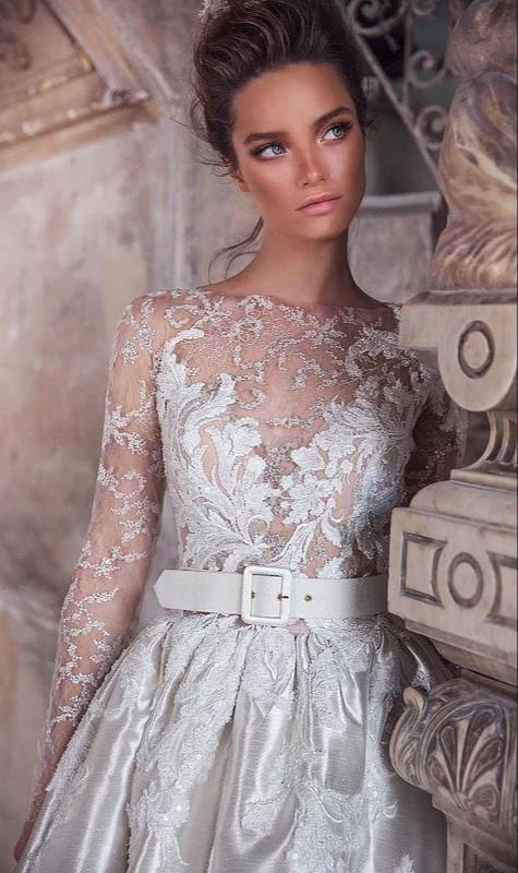 Rochie de mireasa Timisoara alba, culoare rece
