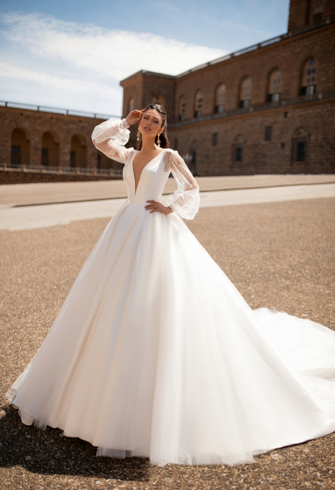 Rochii de mireasa simple Timisoara, rochia Eugenia, imagine 2